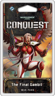 WARHAMMER 40 000 - CONQUEST: THE FINAL GAMBIT - War Pack 6