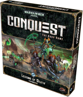 WARHAMMER 40 000 - CONQUEST: LEGIONS OF DEATH - Expansion