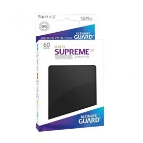 НЕМСКИ ПРОТЕКТОРИ UG - ULTIMATE GUARD SUPREME UX SLEEVES JAPANESE MATTE 62x89 - 60 БР. ЧЕРНИ