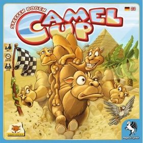 CAMEL UP: GRAND PRIX OF THE SAHARA (PLAYMAT)