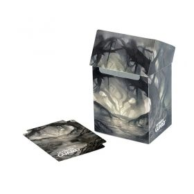 КУТИЯ ЗА КАРТИ - ULTIMATE GUARD DECK CASE LANDS EDITION (за LCG, TCG и др) 80+ - SWAMP