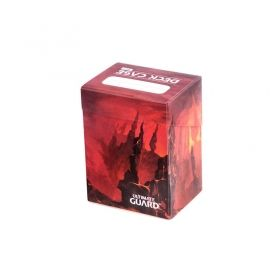 КУТИЯ ЗА КАРТИ - ULTIMATE GUARD DECK CASE LANDS EDITION (за LCG, TCG и др) 80+ - MOUNTAIN