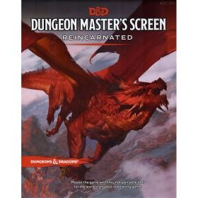 DUNGEONS & DRAGONS DUNGEON MASTER'S SCREEN REINCARNATED