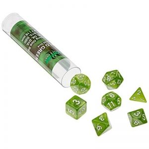 BLACKFIRE DICE - 16mm Set - Emerald Green