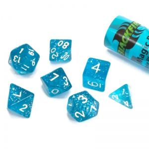 BLACKFIRE DICE - 16mm Set - Magic Blue