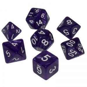 BLACKFIRE DICE - 16mm Set - Purple Strike