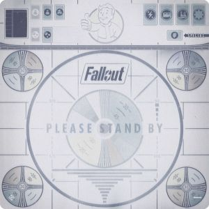 FALLOUT: PLEASE STAND BY DELUXE GAMEMAT - Подложка за игра