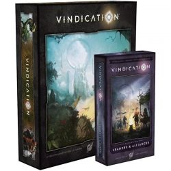 VINDICATION + LEADERS & ALLIANCES EXP + DAY 9 RETAIL PROMO (KICKSTARTER GREEN TIER EDITION)