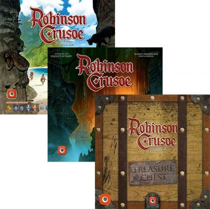 БЪНДЪЛ - ROBINSON CRUSOE: ADVENTURES ON THE CURSED ISLAND 2ND EDITION + 2 EXPANSIONS