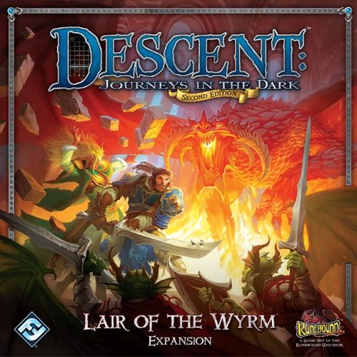 DESCENT - LAIR OF THE WYRM - Expansion