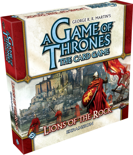 A GAME OF THRONES - Lions of the Rock - Expansion