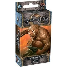 The LORD Of The RINGS The Card Game - THE DRUADAN FOREST - Adventure Pack 2