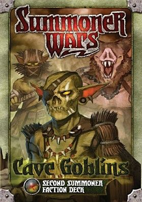 SUMMONER WARS : CAVE GOBLINS SECOND SUMMONER Faction Deck