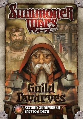 SUMMONER WARS : GUILD DWARVES SECOND SUMMONER Faction Deck