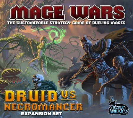 MAGE WARS - DRUID VS NECROMANCER - Expansion