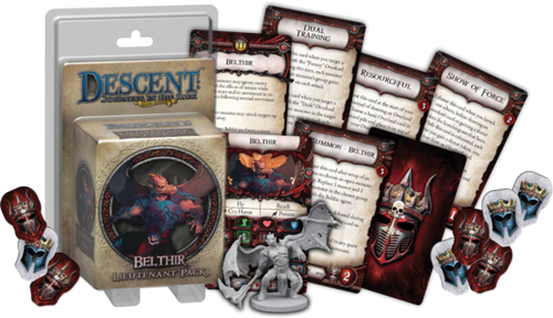 DESCENT - BELTHIR - Lieutenant pack