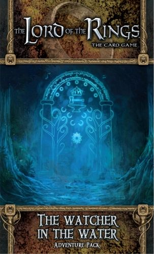The LORD Of The RINGS The Card Game - THE WATCHER IN THE WATER  - Adventure Pack 3