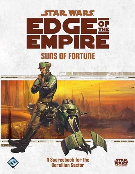 STAR WARS EDGE OF THE EMPIRE - SUNS OF FORTUNE