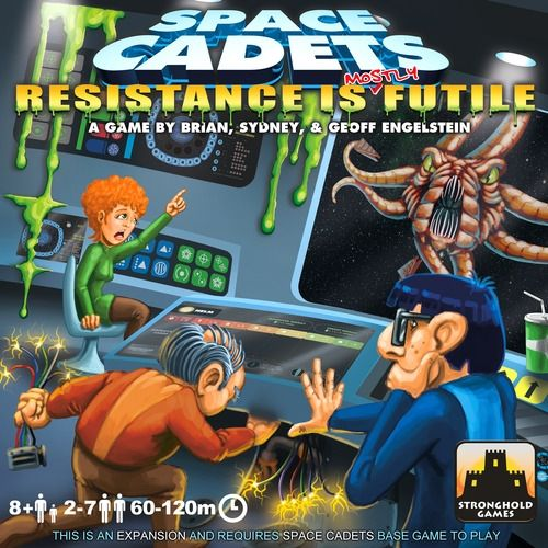 SPACE CADETS - RESISTANCE IS MOSTLY FUTILE - Expansion