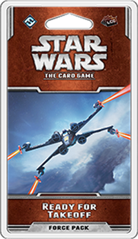 STAR WARS The Card Game - Ready for Takeoff - Force Pack 1