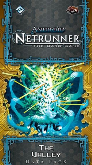 ANDROID: NETRUNNER The Card Game - The Valley - Data Pack 1