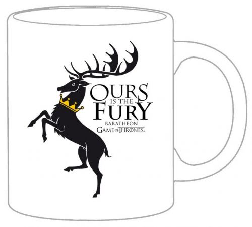 Чаша - AGOT - House Baratheon - бяла