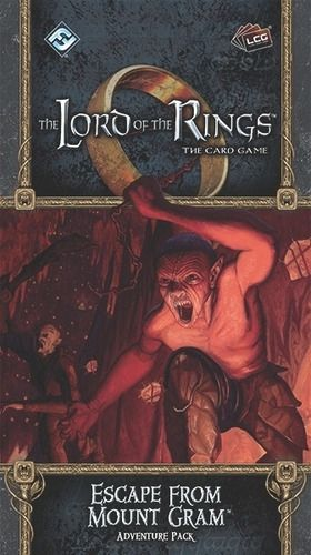 The LORD Of The RINGS The Card Game - Escape from mount gram - Adventure Pack 2
