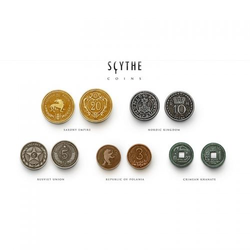 SCYTHE METAL COINS UPGRADE