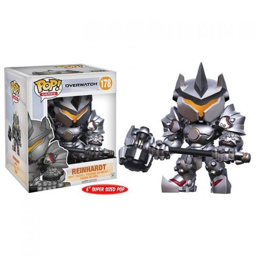 FUNKO POP! OVERWATCH: REINHARDT OVERSIZED
