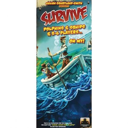 SURVIVE: DOLPHINS & SQUIDS & 5-6 PLAYERS... OH MY!