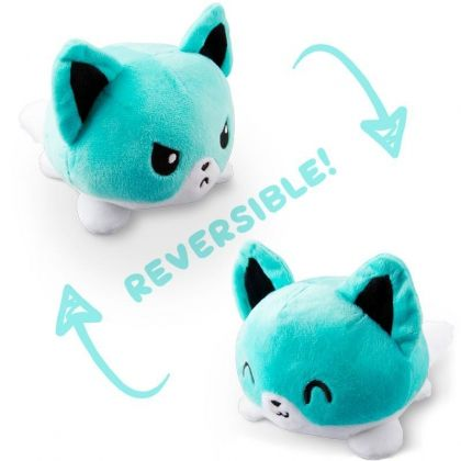 UNSTABLE UNICORNS REVERSIBLE PLUSHIE - FOX (TEAL)