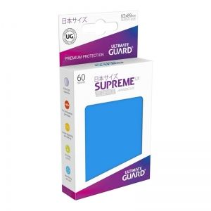 НЕМСКИ ПРОТЕКТОРИ UG - ULTIMATE GUARD SUPREME UX SLEEVES JAPANESE 62x89 - 60 БР. ТЪМНОСИНИ