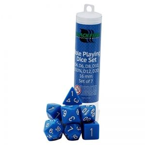 BLACKFIRE DICE - 16mm Set - Blue
