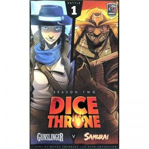 DICE THRONE: SEASON 2 - GUNSLINGER VS SAMURAI (BATTLE 1)