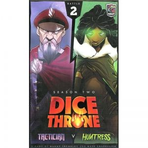 DICE THRONE: SEASON 2 - TACTICIAN VS HUNTRESS (BATTLE 2)