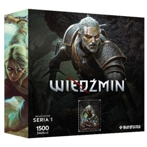 HEROES OF THE WITCHER PUZZLE - GERALT