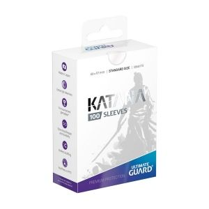ПРОТЕКТОРИ ULTIMATE GUARD KATANA SLEEVES 66x91 (63.5x88 LCG) - 100 БР. ПРОЗРАЧНИ