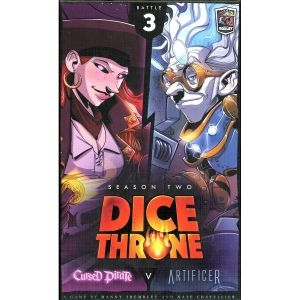 DICE THRONE: SEASON 2 - CURSED PIRATE VS ARTIFICER (BATTLE 3)