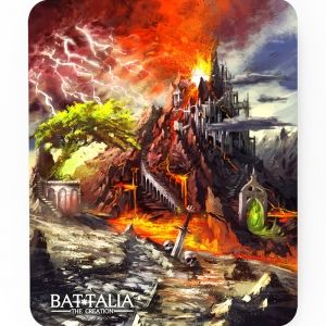 BATTALIA: BLEEDING HORN MOUSE PAD STANDARD - подложка за мишка