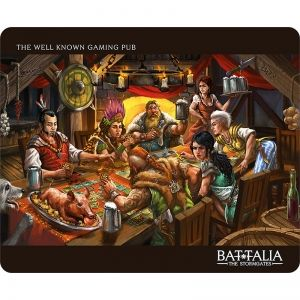 BATTALIA: GAMING PUB MOUSE PAD STANDARD - подложка за мишка