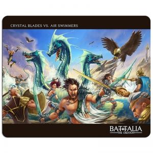 BATTALIA: ISLANDERS VS CLOUDBORN GAMING PAD XL - подложка за мишка