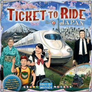 TICKET TO RIDE MAP COLLECTION: VOL. 7 - JAPAN & ITALY