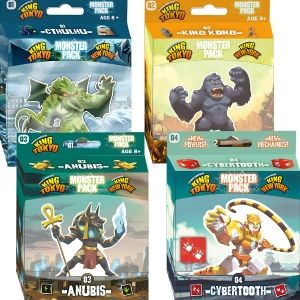 ЕКСТРА БЪНДЪЛ - KING OF TOKYO/NEW YORK: MONSTER PACKS