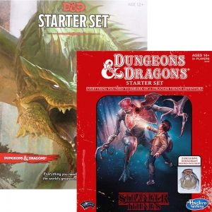 БЪНДЪЛ - DUNGEONS & DRAGONS 5TH EDITION: STARTER SET + STRANGER THINGS STARTER SET