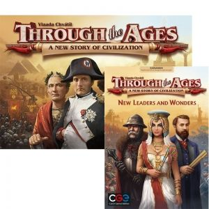 БЪНДЪЛ - THROUGH THE AGES: A NEW STORY OF CIVILIZATION + NEW LEADERS AND WONDERS