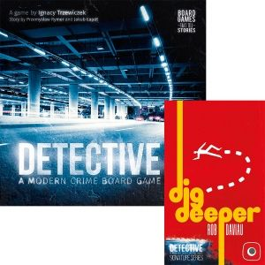 БЪНДЪЛ - DETECTIVE: A MODERN CRIME BOARD GAME + SIGNATURE SERIES - DIG DEEPER