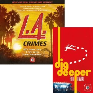 БЪНДЪЛ - DETECTIVE: L.A. CRIMES + SIGNATURE SERIES - DIG DEEPER