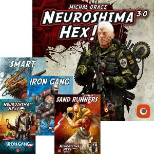 БЪНДЪЛ - NEUROSHIMA HEX! 3.0 + 4 EXPANSIONS
