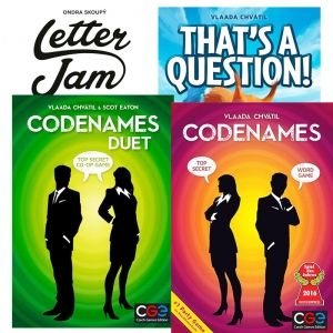 БЪНДЪЛ - CODENAMES + CODENAMES DUET + LETTER JAM + THAT'S A QUESTION!