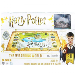 4D ПЪЗЕЛ - HARRY POTTER - WIZARDING WORLD